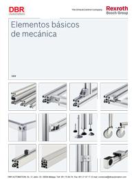 Cat logos montaje bosch rexroth dbr automation s l for Perfiles de aluminio catalogo